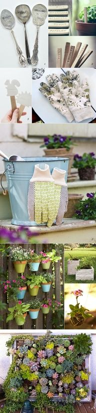 DIY garden projects roundup by Clemence Herbillon