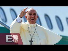 Estos son los recorridos y horarios del papa Francisco en México