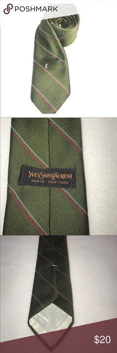 Authentic YSL tie Like new. Excellent color and condition Yves Saint Laurent Accessories Ties