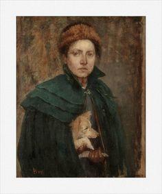 Louise Catherine Breslau · Autoritratto · 1891 · Musée d'Art Moderne et Contemporain · Strasbourg