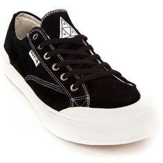newest 118b4 a7da6 Huf Skate Shoes Classic Lo - Black White