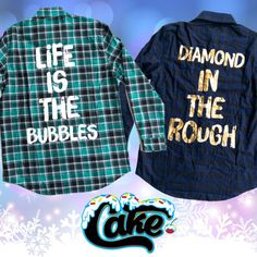 @cakeworthy will be releasing these two flannels this evening... Disneybound Inspiration for your next Disney trip!