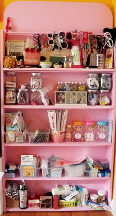 Twinkie Chan's craft room