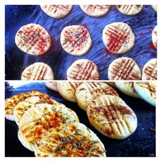 GF sugar cookies. Sweet cinnamon and Savoury smoked paprika and rose mary