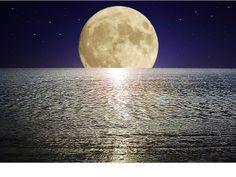 sancarlosfortin: el mar el oceano la luna