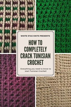 How to Completely Crack Tunisian Crochet Completely perplexed by Tunisian Crochet? Click through to learn the basic stitch and history behind this beautiful craft. Via White Stag Knits Tunisian Crochet Blanket, Tunisian Crochet Patterns, Crotchet Patterns, Knit Or Crochet, Easy Crochet, Crochet Hooks, Crochet Afghans, Crotchet Stitches, Baby Afghans