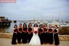 Wedding day. Shot with the girls 8.8.14