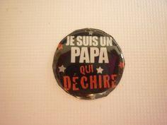 Cabochon rond un slogan bien connu sur le thème de la famille 20 mm. : Autres accessoires bijoux par laboiteabijouxnanny