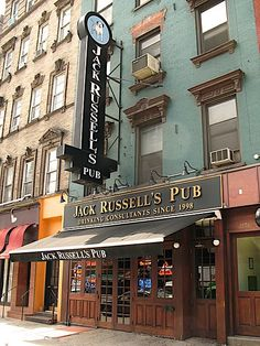 Jack Russell's Pub, drinking consultants since 1998, NYC, NY.