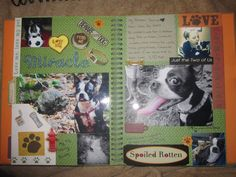 Dog Smash Journal page. Hmmm. Maybe a journal for all the pets?