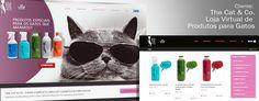Desenvolvemos para The Cat & Co , seu novo web site com #E-Commerce para venda de #ProdutosParaGatos, como Shampoos, Perfumes, entre outros.