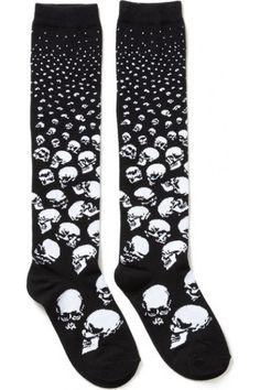 Killstar Scully Long Socks