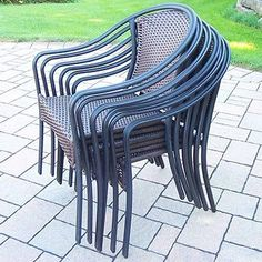 Oakland Living 6 Stackable Tuscany Chairs ** Want to know more, click on the image.