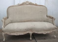 I have two - I like this whitewashed look- need to reupholster.