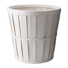 IKEA Kalasa Plant pot - plastic lining makes it a perfect trash bin in my entry way/living room!