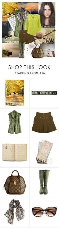"""""""DREAM FOR TOMORROW..."""" by gul07 ❤ liked on Polyvore featuring WALL, Matthew Williamson, The Vatican Library Collection, Burberry, John Fluevog, Vivienne Westwood and Kate Spade"""