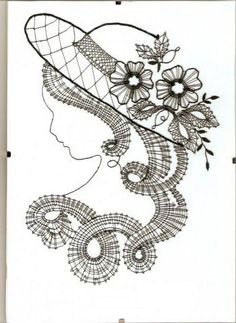 Looking for heds made with these prickings - Kikka Sal - Веб-альбомы Picasa Bobbin Lace Patterns, Embroidery Patterns, Irish Crochet, Crochet Lace, Lace Art, Crochet Needles, Lacemaking, Parchment Craft, Point Lace