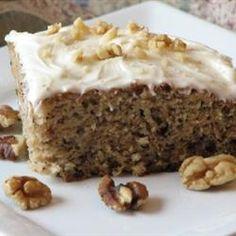 A-Number-1 Banana Cake Allrecipes.com
