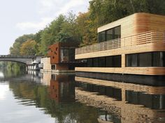 furniture Houseboat on the Eilbekkanal by Rost Niderehe Architects