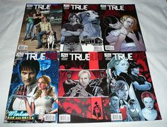 €7.67 TRUE BLOOD comics #1,2,3,4,5,6 ~ FULL SET