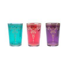 Moroccan Tea Glasses - Set of 6 | dotandbo.com