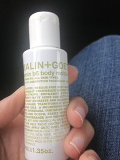 Twitter / kapoors_s: @Malin+Goetz love ur beauty products! My favorite #vitamin b5 body moisturizer! Recently used at @The Betsy-South Beach
