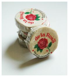 Mazapan I would eat these till my stomach hurt, always at Fiestas!