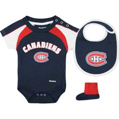 da8893b84 Montreal Canadiens Navy Newborn Creeper