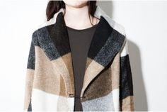 Costa Blanca Pin Front Coat from @oakNYC