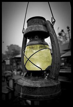 Antique Lantern... love this