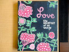 lilly-inspired canvas #crafts #sorority #zta