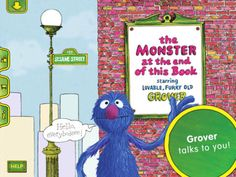 The Monster at the End of this Book is a wonderful read to enjoy with your kids. Download KinderTown to learn more and download the app.