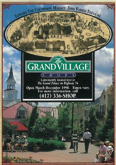 The Grand Village Shops located next to the Grand Palace Theatre in Branson, Missouri.