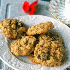 Oatmeal Cookies with Chocolate and Chia