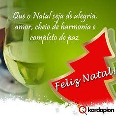 Que o Natal seja de alegria, amor, cheio de harmonia e completo de paz. Feliz Natal! www.kardapion.com