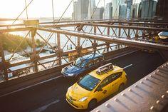 NYC 2014 | www.blog.juliusise.de #nyc #manhattan #travel #newyork #skyline #brooklybridge #sunset #taxi