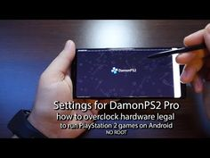 Settings for DamonPS2 Pro - how to overclock hardware & change FPS to run PlayStation 2 games on android - Andrasi.ro