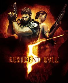 NECA presents all-new wall scrolls featuring Resident Evil 5 character art. This one in particular is the Resident Evil 5 video game box art. Resident Evil 5, Final Fantasy X, Wii, Arcade, Biohazard, Evil Games, Mundo Dos Games, Latest Video Games, Xbox 360 Games