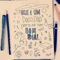 Hoje é um bom dia para se ter um bom dia! :) nu Lígia Oliveira