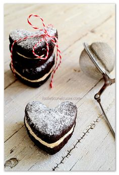 #chocolate and #vanilla #heart #cookies #happyvalentine