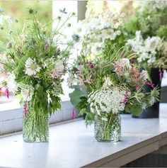 wildflower arrangements by BOTANY LA