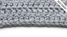 Improve your crochet with New Stitch A Day! The Foundation Double Crochet (FDC):: Crochet Technique :: Right Handed
