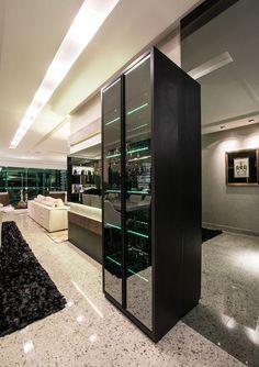 Imagem 55 Cafe Bar, Office Bar, Interior Decorating, Living Room, House, Inspiration, Furniture, Home Decor, Interiors