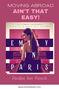 Moving abroad definitely ain't easy. It really isn't as smooth as Emily's move. She did move for work so everything was prepared for her, don't believe everything you see on tv! #netflix #emilyinparis #movingabroad #migrating #paris #france #europe #newyorkcity #america