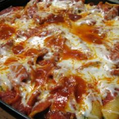 """Cream Cheese Stuffed Shells """"Very easy 123 step thing to make family favorite even the kids will love it and request it again and again!"""""""