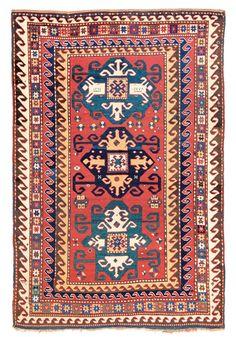 Kazak Star-variant Caucasus circa 1860