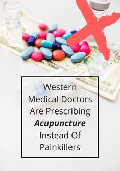 More western medical practitioners are recommending acupuncture over drug painkillers and here's why. #Acupunctureforpain #AcupunctureWorks #Acupuncturebenefits #tcm #traditionalchinesemedicine Acupuncture Benefits, Traditional Chinese Medicine, Drugs, Medical, Medicine, Med School, Active Ingredient
