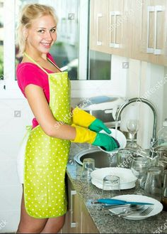 Latex Gloves, Rubber Gloves, Plastic Aprons, House Maid, Pvc Apron, Domestic Goddess, Rain Wear, Blouse, Maids