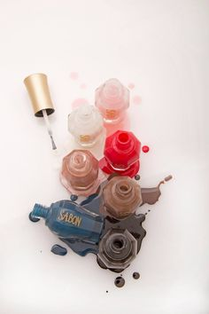 We have a wide range of #nailpolish at SABON - preview the colors through the image!