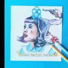 Melanie Martinez Mad Hatter, Cry Baby, Drawings, Things To Sell, Sketches, Drawing, Portrait, Draw, Grimm